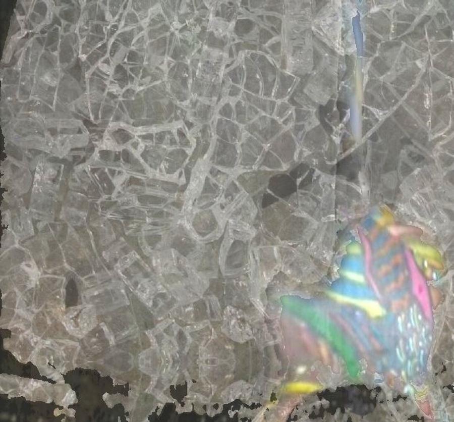 Shattered Digital Art by Lisa Peaslee
