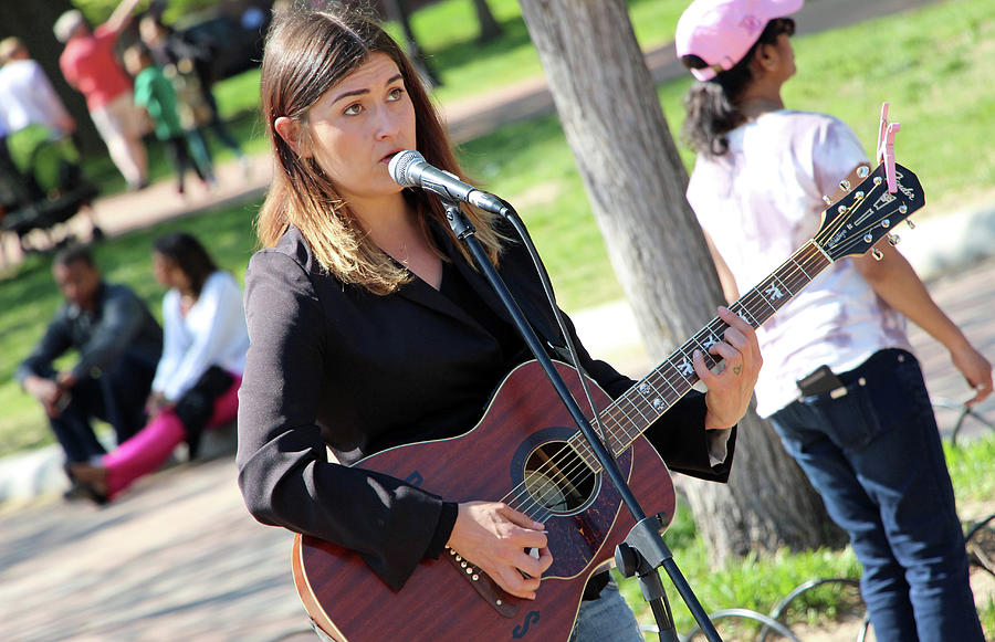 Sunday Afternoon In The Park -- With Music Photograph