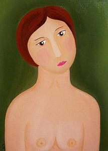 She Cannot Feel Old. Painting by Art by  Lily