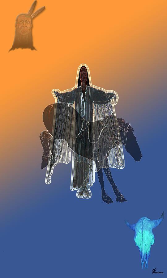 She Danced Digital Art by Andrea Lawrence