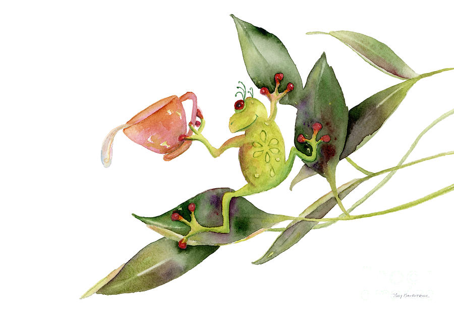 She Frog Painting