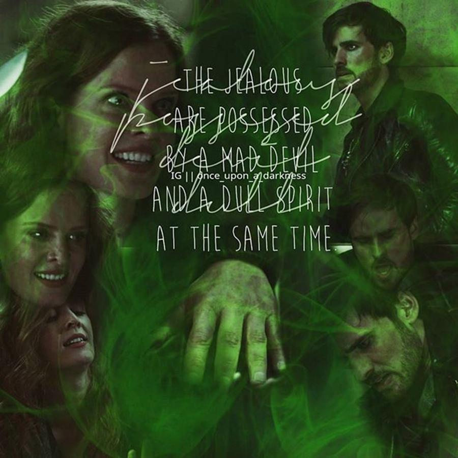Ouat Photograph - Zelena cuts her hand by Kay Klinkers
