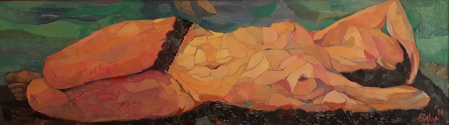 She Painting - She by GALA Koleva