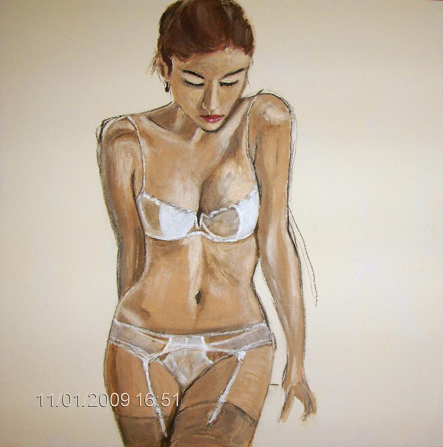 Women Painting - SHE by Gunter Kreil