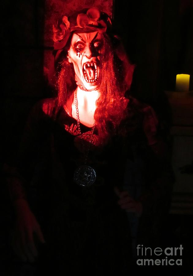 Screaming Photograph - She Has A Horrible Scream by John Malone
