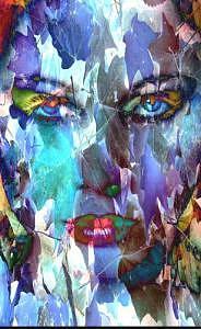 Abstract Digital Art - SHE by Kostadin Kostov