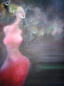 She Painting by Sona  Yeghiazaryan