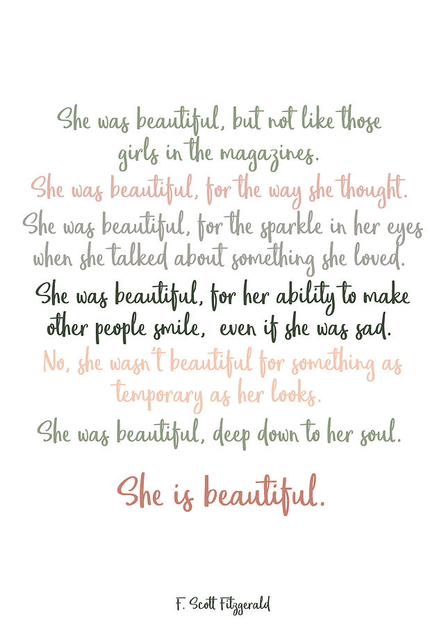 Shes beautiful to poems tell girl a I Like