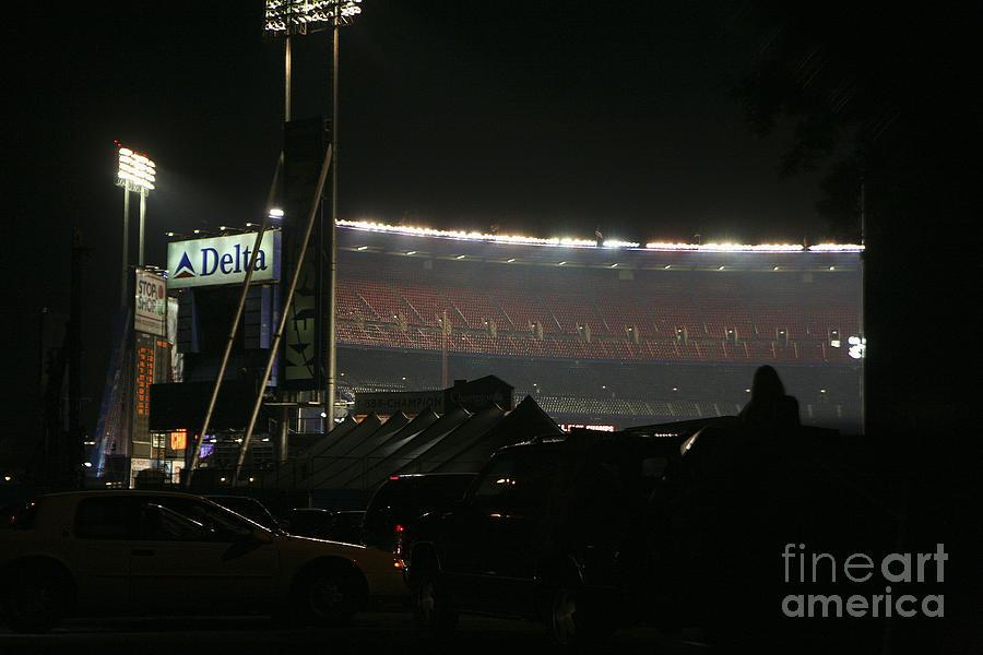 Nyc Photograph - Shea Stadium by Chuck Kuhn