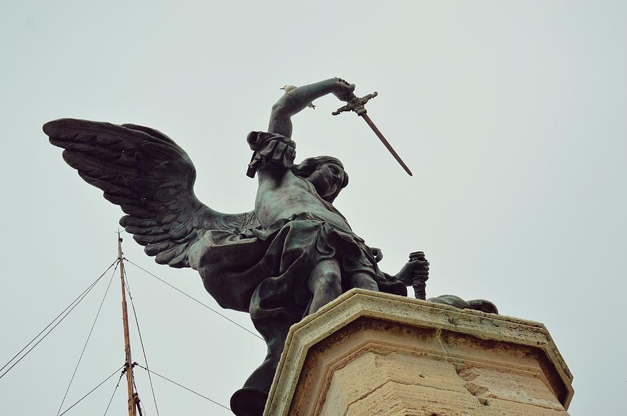 Italy Photograph - Sheathing His Sword by JAMART Photography
