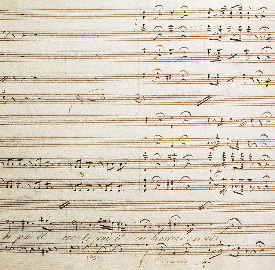 Sheet Music For The Barber Of Seville By Rossini