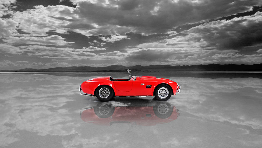 Ford Mustang Shelby Photograph - Shelby Cobra 1965 by Mark Rogan