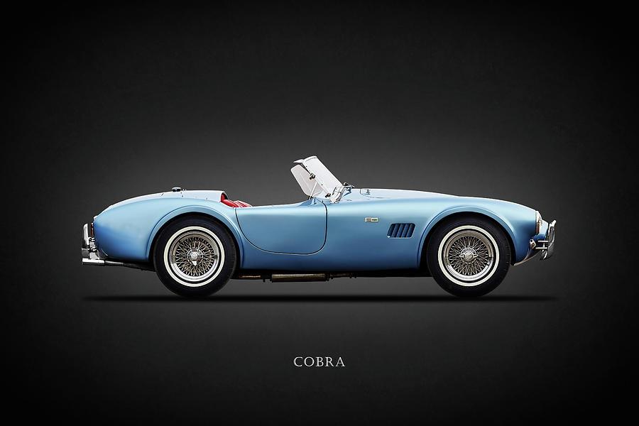 Shelby Cobra Photograph - Shelby Cobra 289 1964 by Mark Rogan