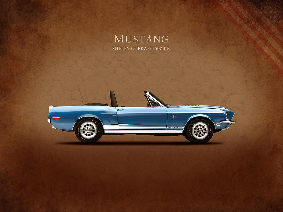Ford Mustang Photograph - Shelby Cobra Gt500 Kr by Mark Rogan