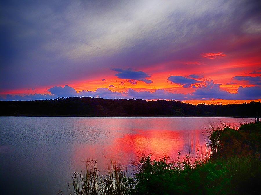 Shelf Cloud at Sunset by Bill Barber