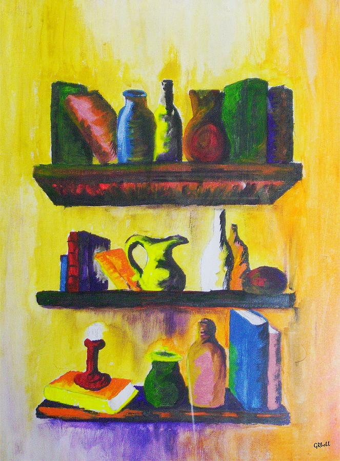 Shelf Painting - Shelf by Gr B