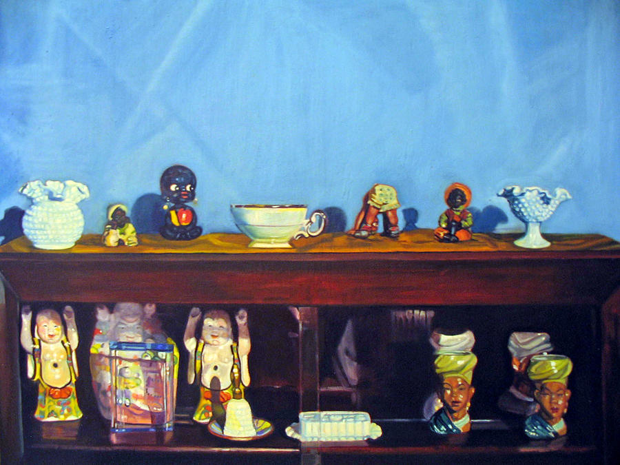 Still Life Painting - Shelf Life by Morris T Howard