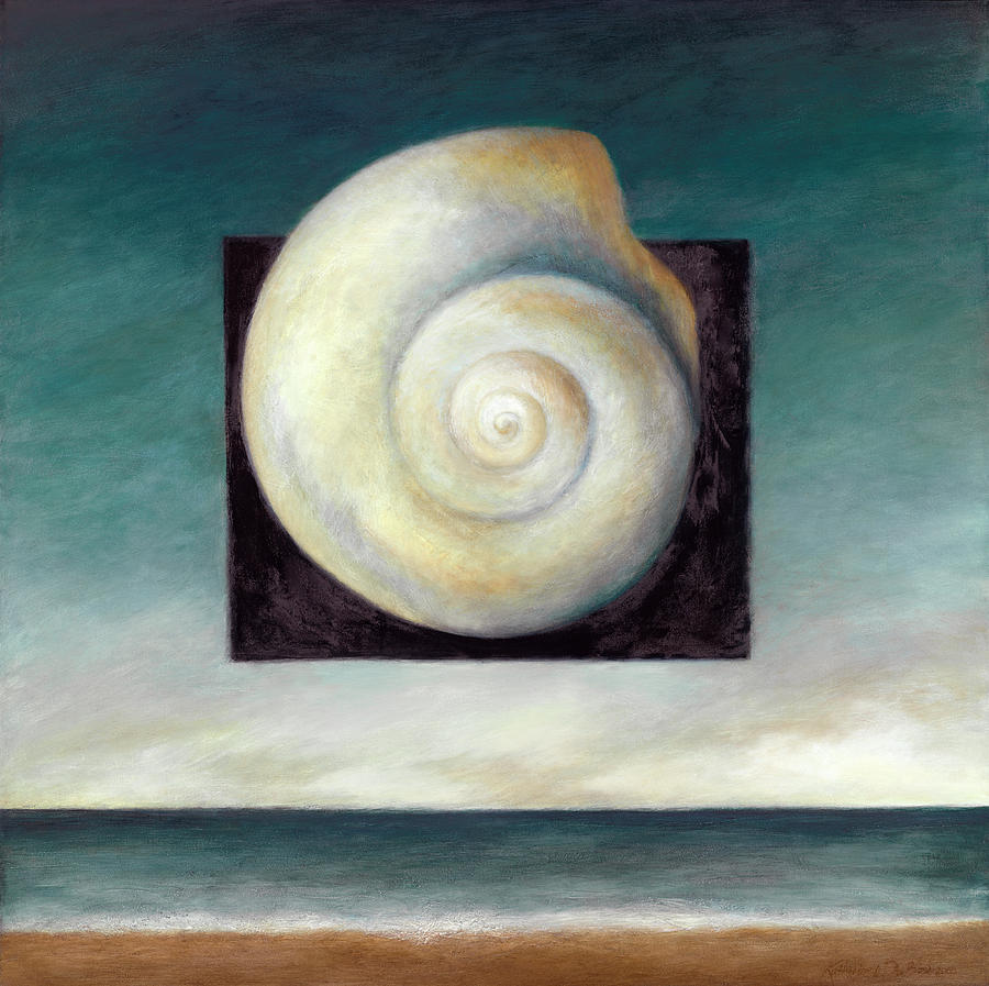 Seashell Painting Painting - Shell 2 by Katherine DuBose Fuerst