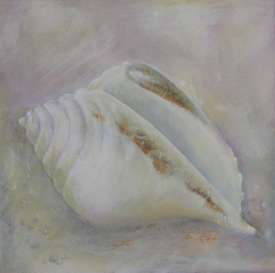 Shell No.1 Painting by Eve Corin