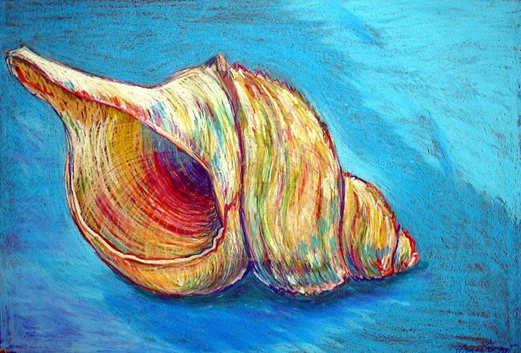 Nature Pastel - Shell by Romana Hrncirova