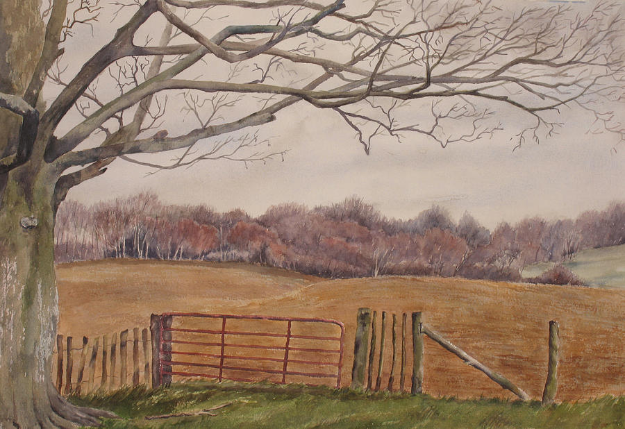 England Painting - Shelter by Debbie Homewood