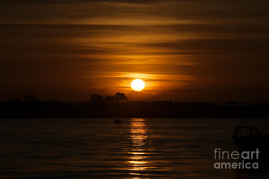 Sunrise Photograph - Shelter Island Sunrise by Caroline Jeanine