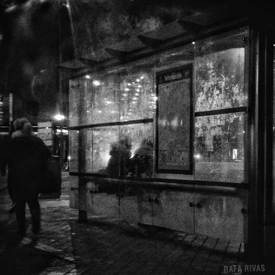 Christmas Photograph - Shelter  #street #citylife #city by Rafa Rivas