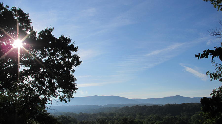 Shenandoah Valley Photograph - Shenandoah Valley by Denise   Hoff