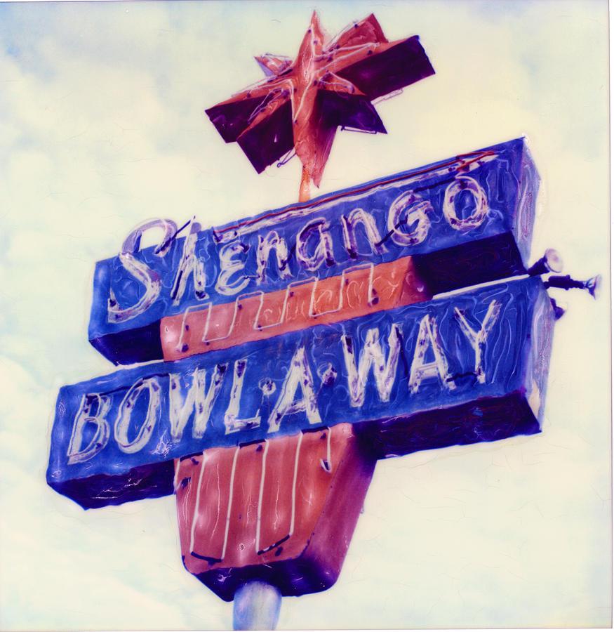 Nostalgia Photograph - Shenango Bowl-a-way by Steven  Godfrey