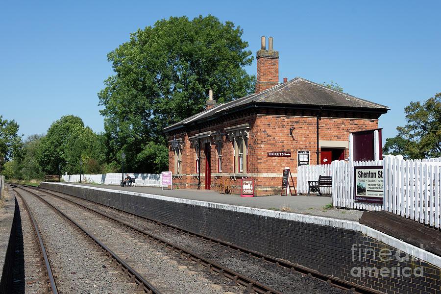 Station Photograph - Shenton Station by Steev Stamford
