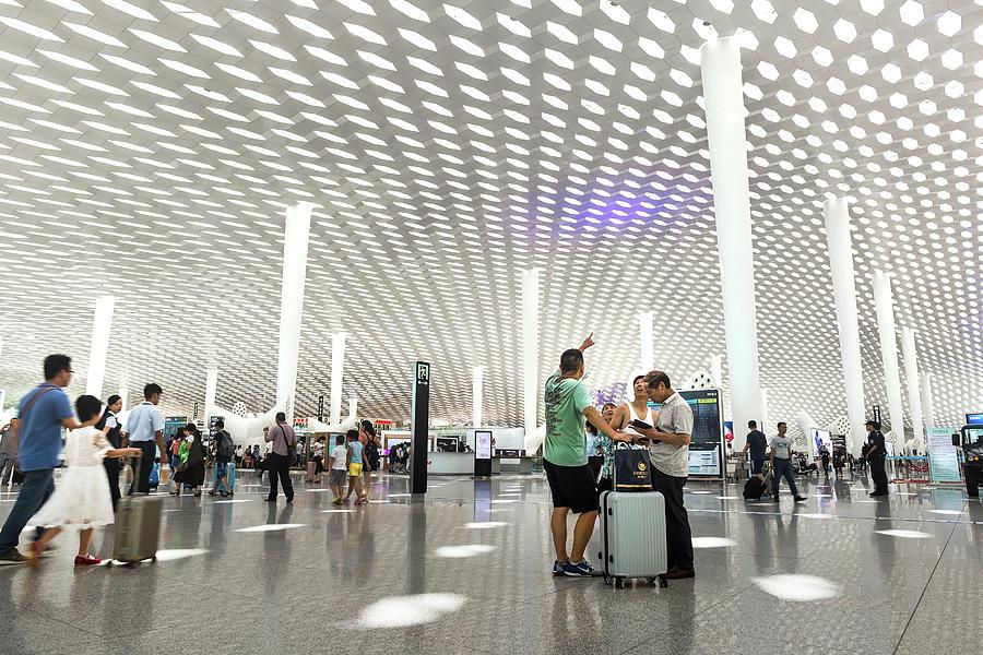 Shenzhen Airport by Geoffrey Lewis