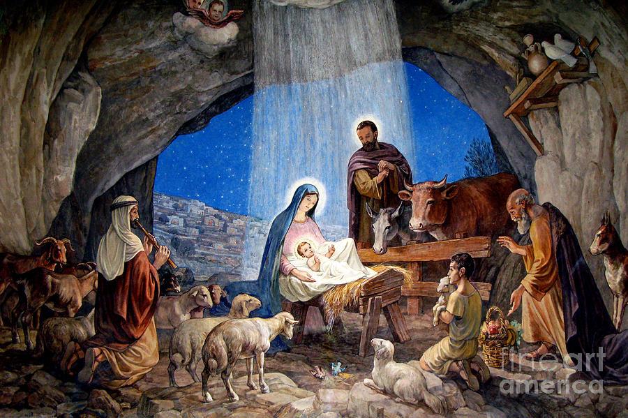 Christmas Shepherds.Shepherds Grotto Nativity