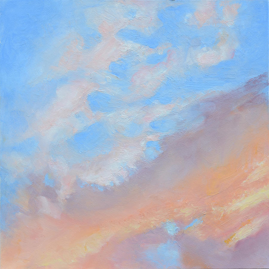 Oil Painting - Poets Sky by Mary Chant
