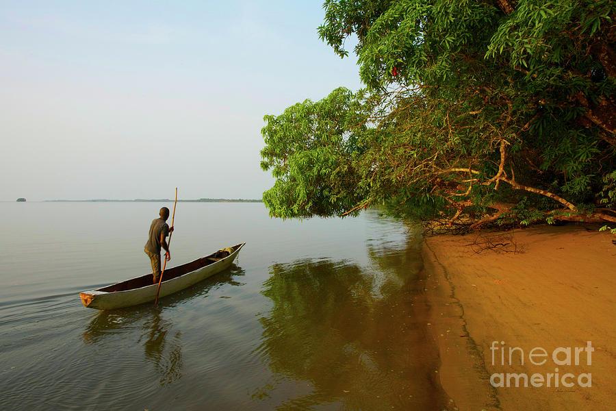 Sherbro Island Rush Hour - Sierra Leone by Julian Wicksteed