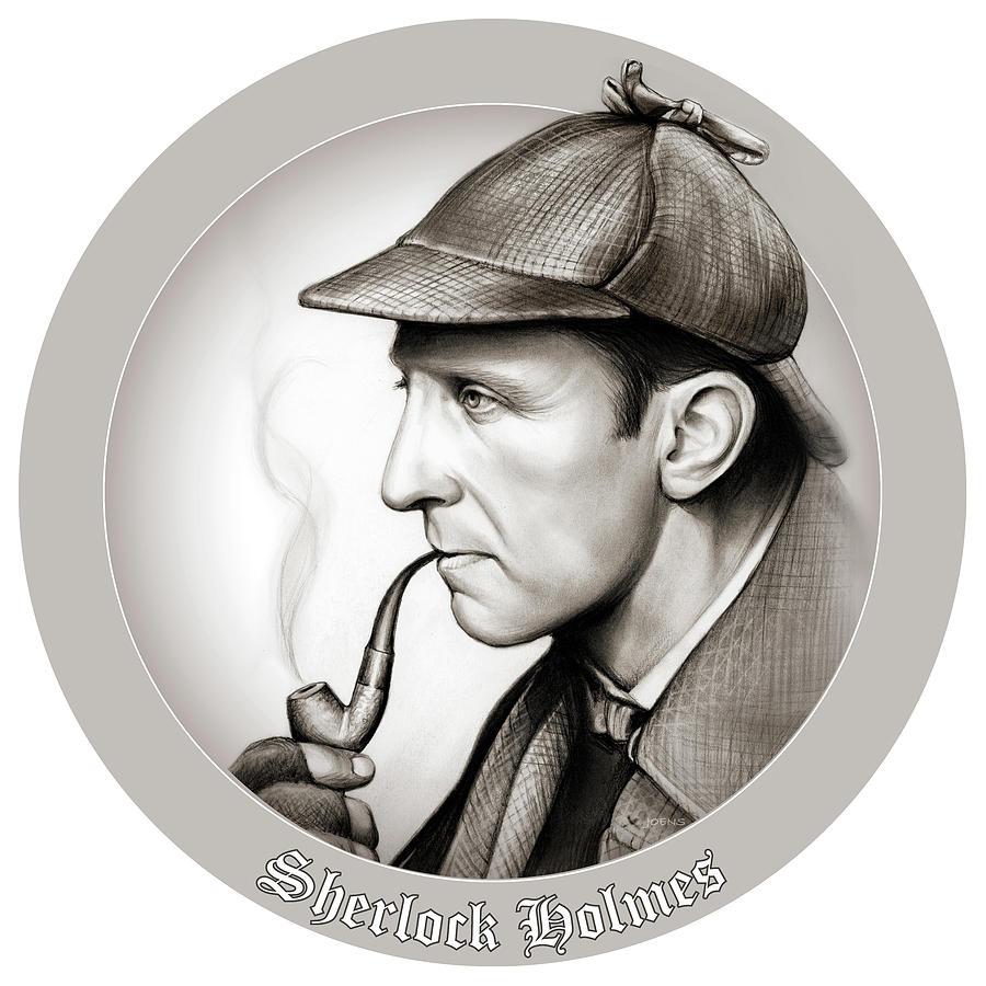 Sherlock Holmes Mixed Media