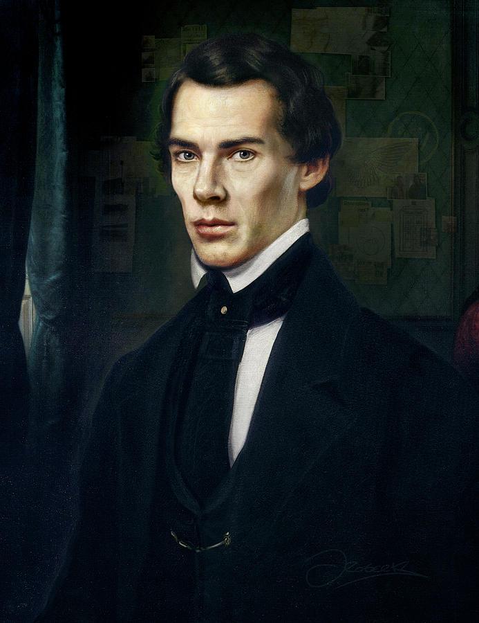 Sherlock Holmes Painting - Sherlock by Joe Roberts