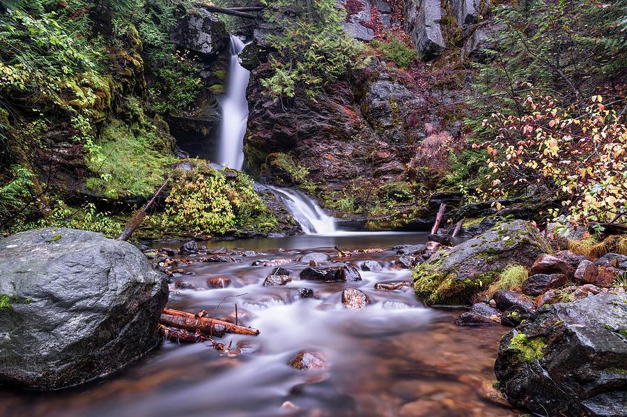 Sherman Creek Falls by Harold Coleman