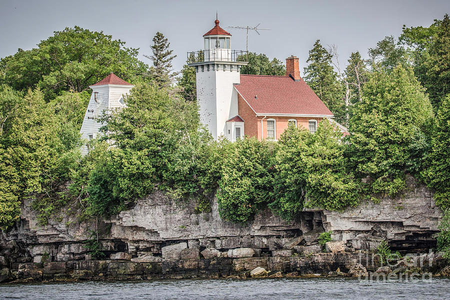 Sherwood Point Lighthouse Photograph