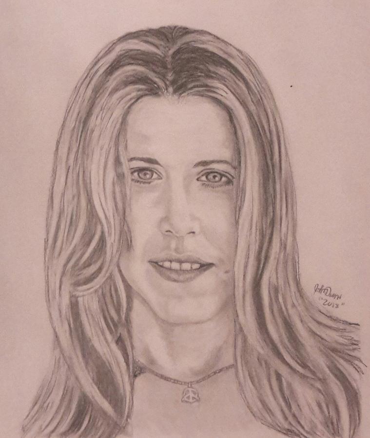 Sheryl Crow Drawing By John Duran