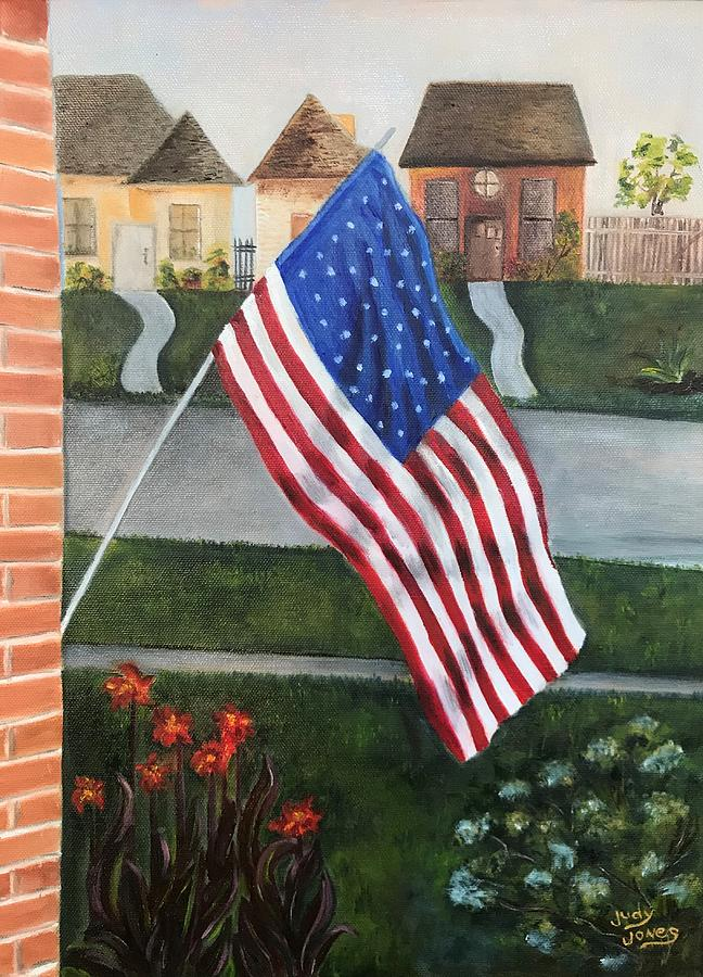 Shes A Grand Old Flag Painting