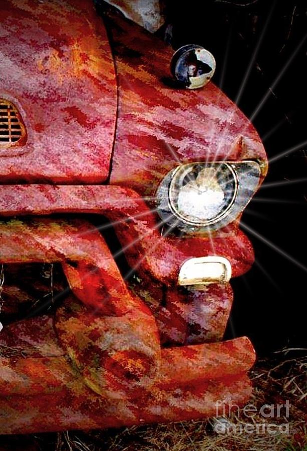 Betty Davis Photograph - Shes Got Betty Davis Eyes  Gmc Classic Pick Up Truck by Ed Sanseverino Photography