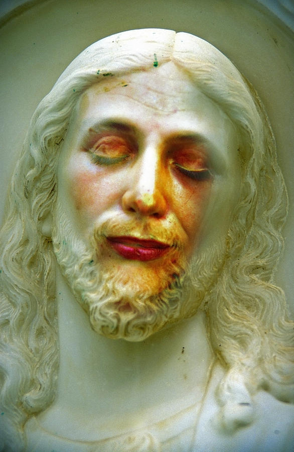 Jesus Photograph - Shesus by Skip Hunt