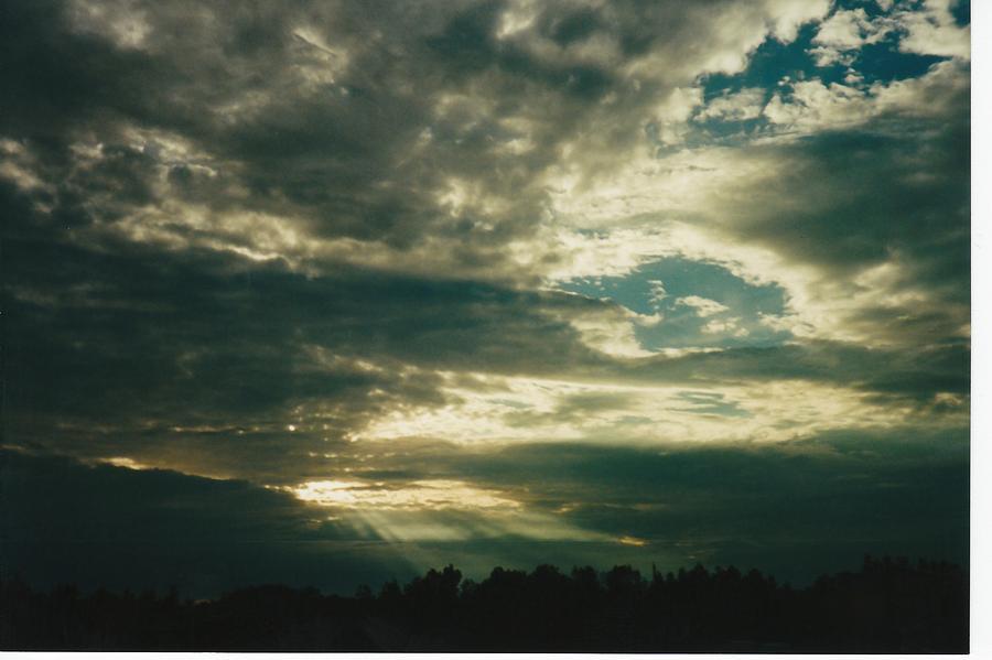 Sky Photograph - Shiawasse County Michigan by Gene Linder