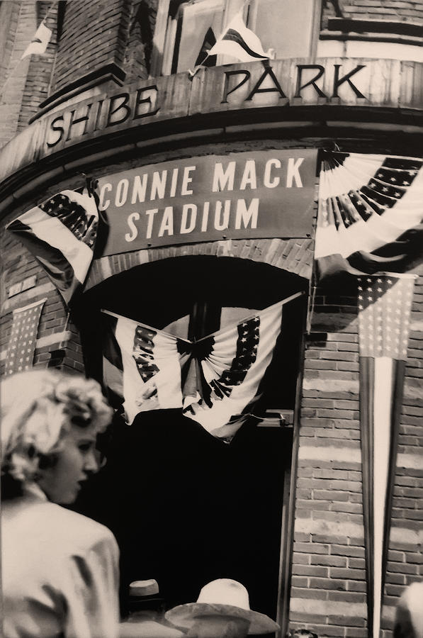 Shibe Park Photograph - Shibe Park - Connie Mack Stadium by Bill Cannon