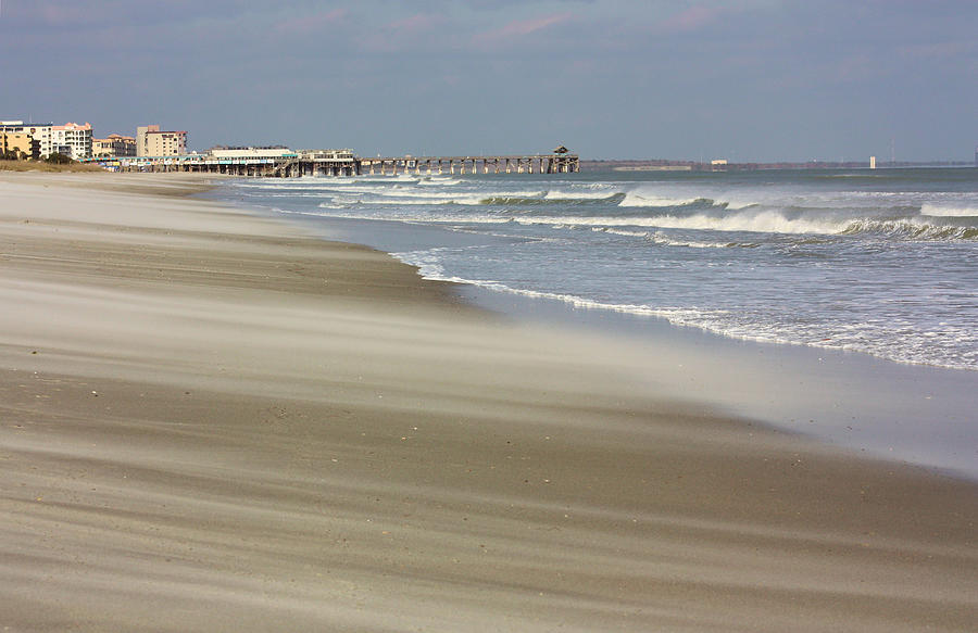 Cocoa Beach Photograph - Shifting Sands by Kristin Elmquist