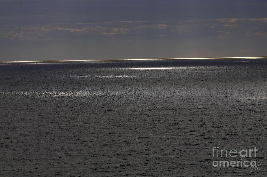 Seascape Photograph - Shimmer Of Light by Gerlinde Keating - Galleria GK Keating Associates Inc
