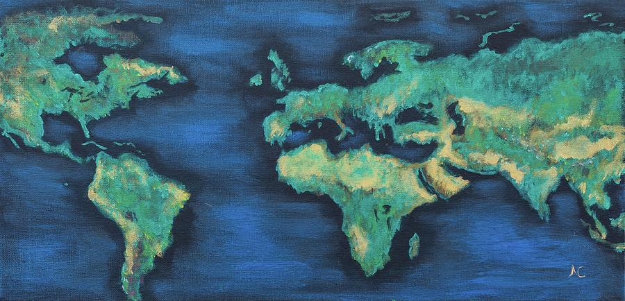 Shimmering Earth by Neslihan Ergul Colley