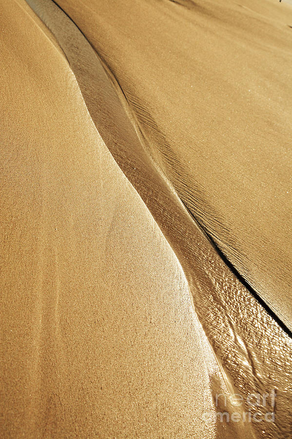 Abstract Photograph - Shimmering Sand by Brandon Tabiolo - Printscapes