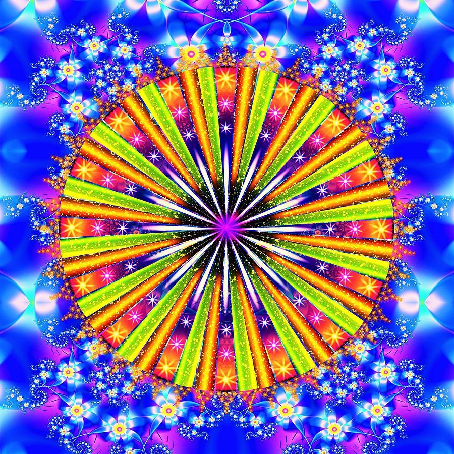 Shine Digital Art - Shine And Sparkle by The Awakening Art