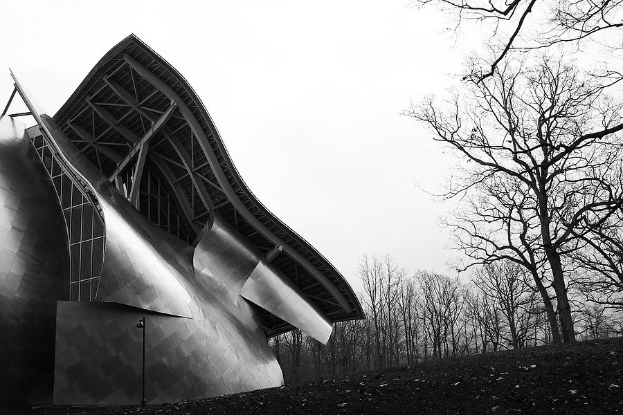 Architecture Photograph - Shine On Gehry At Bard College New York State by Jane McDougall